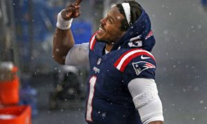 New England Patriots quarterback Cam Newton breaks group record that represented over 40 years