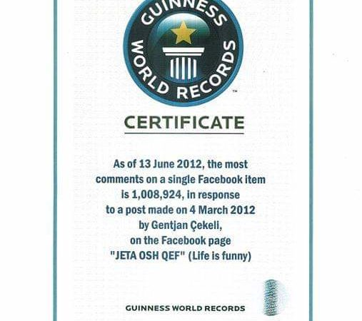 How Entrepreneur Gentjan Cekeli Created a Guinness World Record Holder