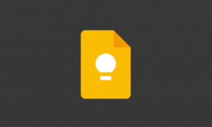 Google Keep includes home and work shortcuts for task updates