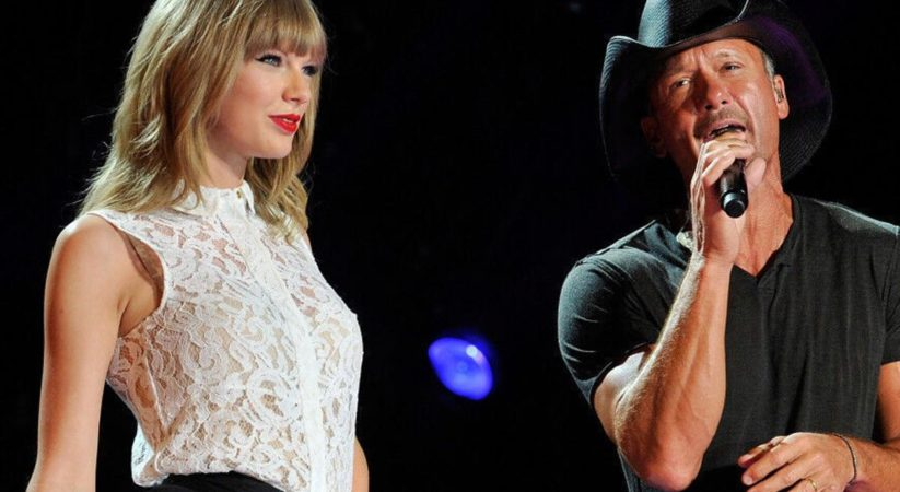 Tim McGraw was 'a little apprehensive' when Taylor Swift named her debut song after him