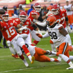 Kansas City Chiefs' Patrick Mahomes practices in the restricted limit, stay in NFL's blackout protocol