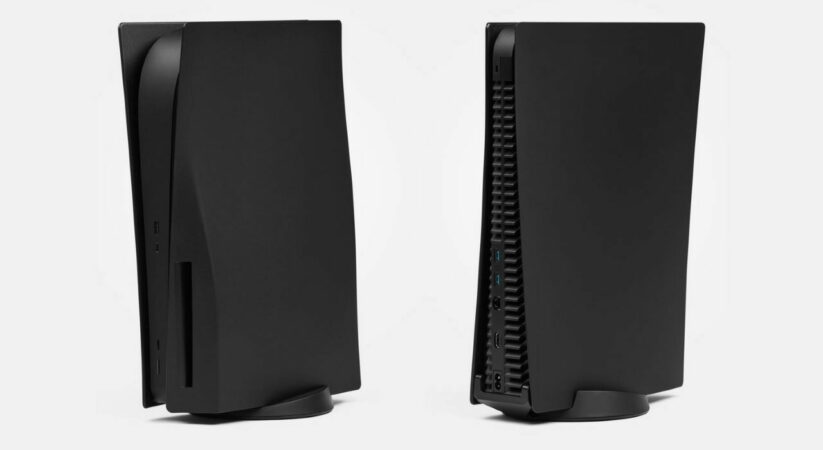 Dbrand's matte black PS5 side panels are presently accessible for the two models