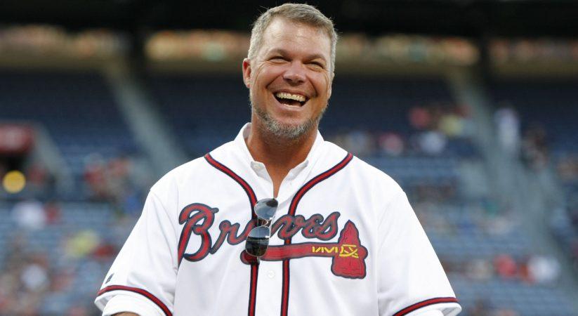 Chipper Jones re-visitations of Atlanta Braves as part-time hitting advisor