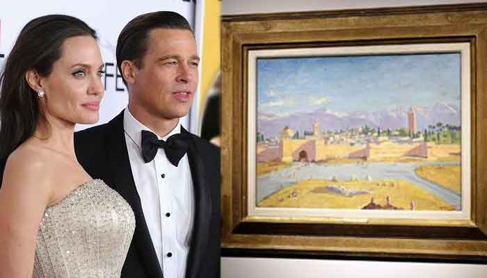 Angelina Jolie to sell Winston Churchill historic painting that she purchased with Brad Pitt