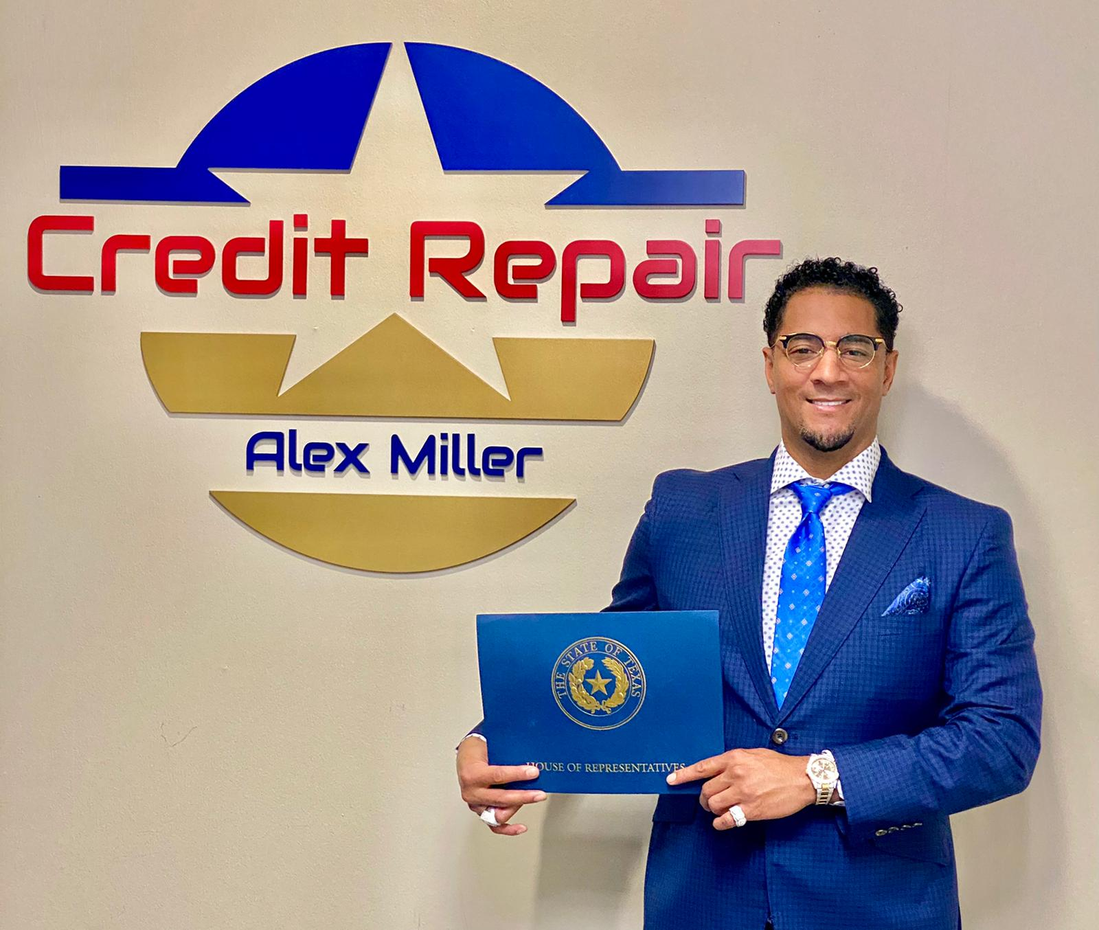 """""""Repairing your credit report yourself is not as daunting as it sounds,"""" Says Credit Repair Specialist Alex Miller"""