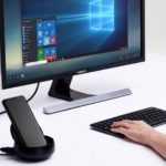 Samsung DeX currently works wirelessly on PCs, in the event that you have a Galaxy S21