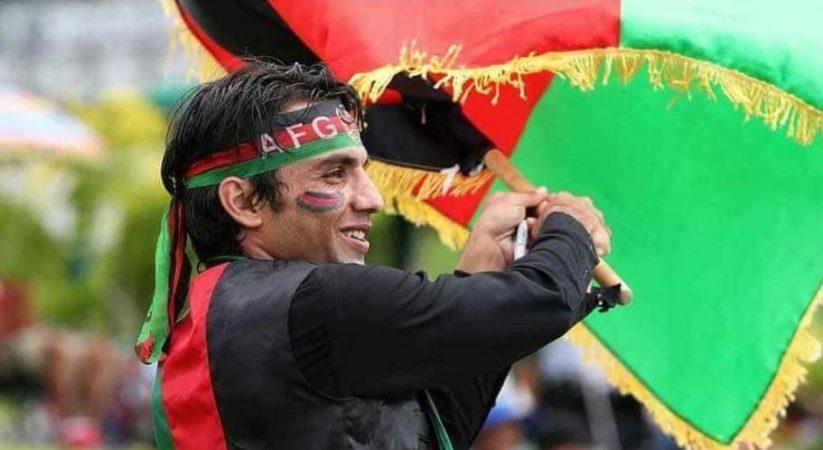 Afganistan fans Rahim sediqi made 3rd trip Dubai