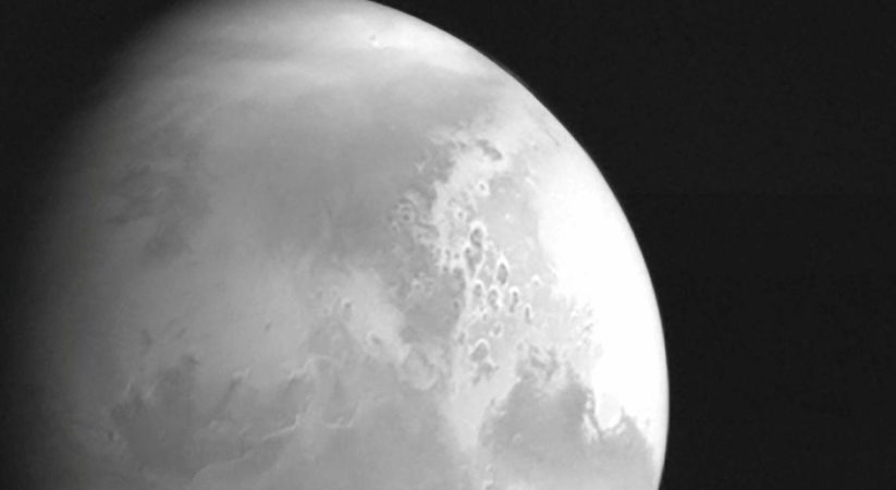 China's Tianwen-1 Mars probe presents its initially unpleasant glance at the planet