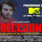 Young Filmmaker Grish Majethiya's Award-Winning Short Film 'Decision' To Be Telecasted On MTV This Sunday