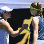 Karolina Muchova remains No. 1 Ash Barty to arrive at the Australian Open semifinals