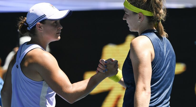 Karolina Muchova remains No. 1 Ash Barty to arrive at the Australian Open semifinals