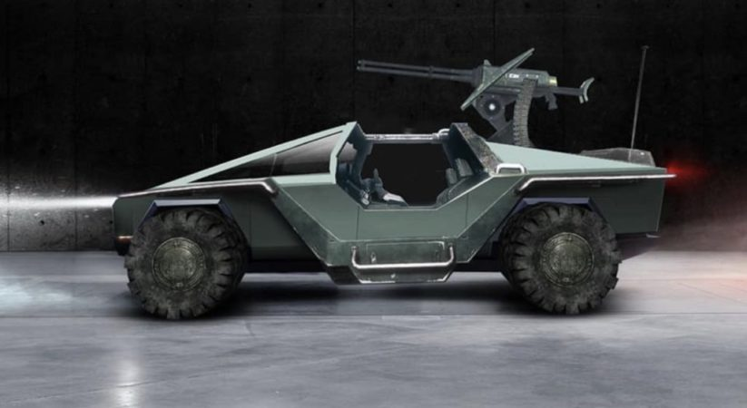 Tesla Cybertruck warthog would be a 'dream collab' for Xbox chief
