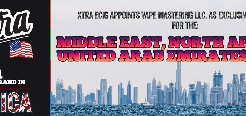 Xtra Ecig LLC Expands in the MENA Region
