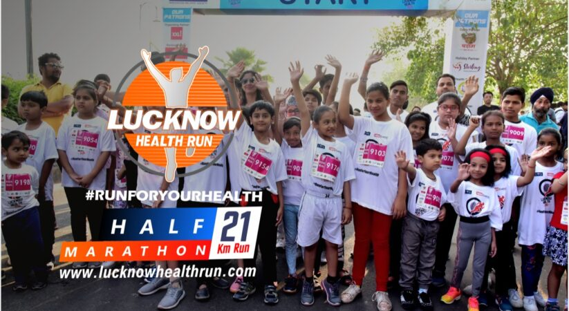Run against Covid-19 pandemic, Refill the colors of life at 'Lucknow Health Run'