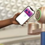 Disney's MagicMobile pass is a contactless option in contrast to the MagicBand