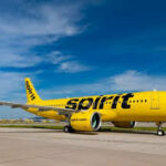 Pensacola International Airport including Spirit Airlines with flights to 7 cities
