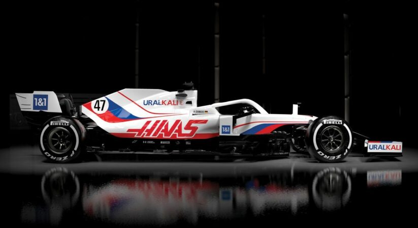 Haas uncovers new livery for 2021