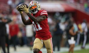 Chicago Bears signed wide receiver Marquise Goodwin to 1-year contract