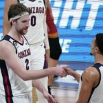 Gonzaga opens as biggest Final Four top pick in NCAA competition history