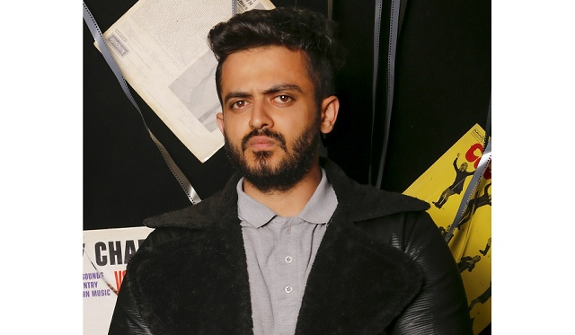 Mohsen Avid, an Iranian rapper who has a strange anger in his singing style