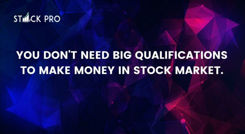 Start the process today to learn Stock Market from Scratch to Advanced Level Trader and Investor