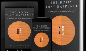 The Book That Happened is a book of discovering the undiscoverable
