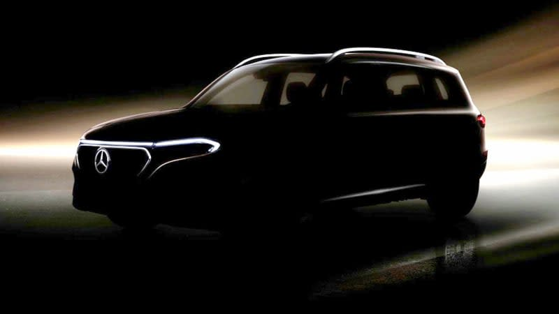 Mercedes-Benz reports EQB compact SUV with 7 seats coming one year from now