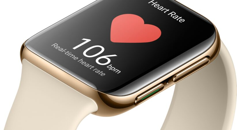 Oppo Watch and Band currently sync with iPhone for Apple Health information