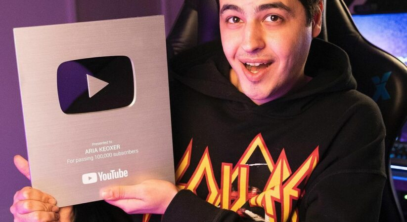 Biography of Aria Keoxer, YouTuber and professional and popular Iranian gamer
