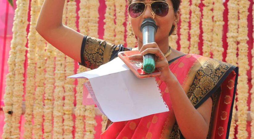 Anchoring is my passion and worship said Kanishka Gola