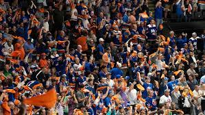 New York Islanders fans' national anthem version dazes once again before the playoff game