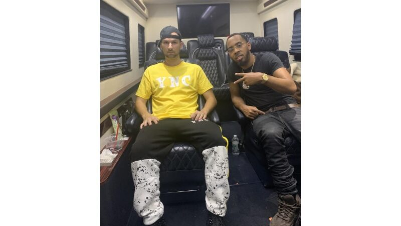 Josh from YNC seen on Reality TV's growing hip-hop with Jo Jo Simmons on We TV