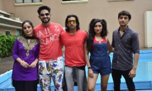 Unseen pictures from the sets of Yasser Desai's upcoming single Mukkamal