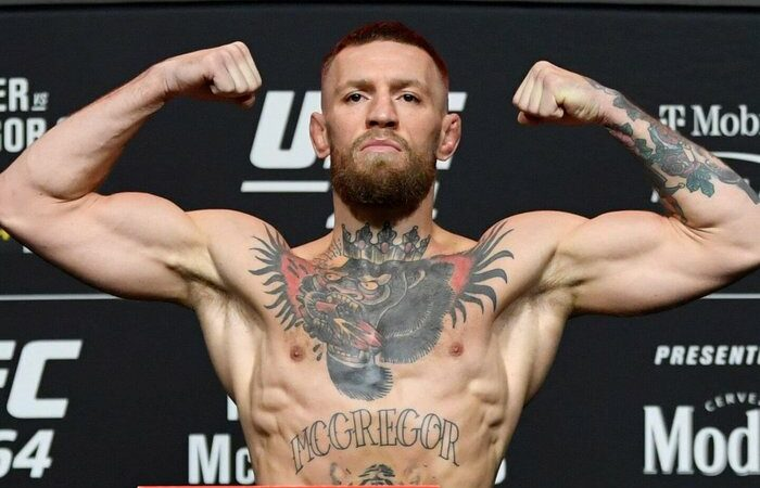Dustin Poirier, Conor McGregor obtain weight in front of UFC 264
