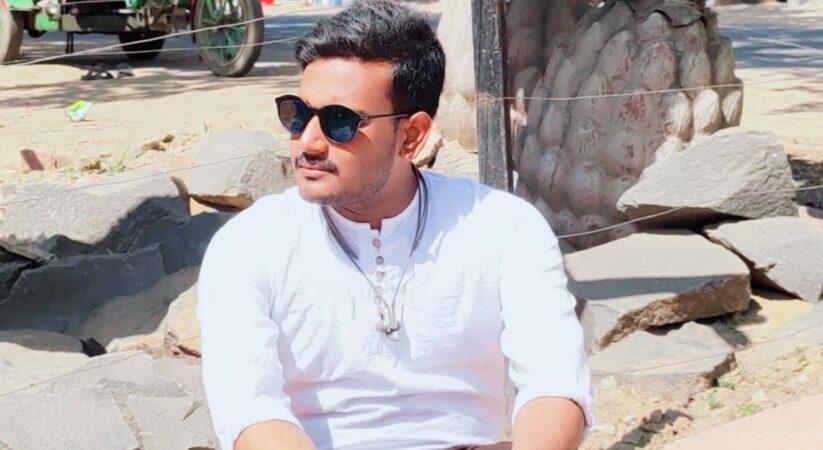 The Indian politician Subhajit Santra's life journey