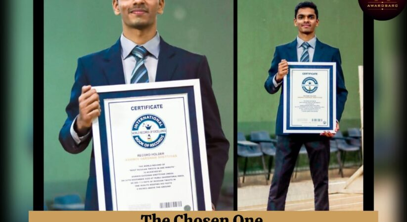 Ashwin Darshan Shettiyar's inspiring journey led him to be THE CHOSEN ONE by AwardsArc
